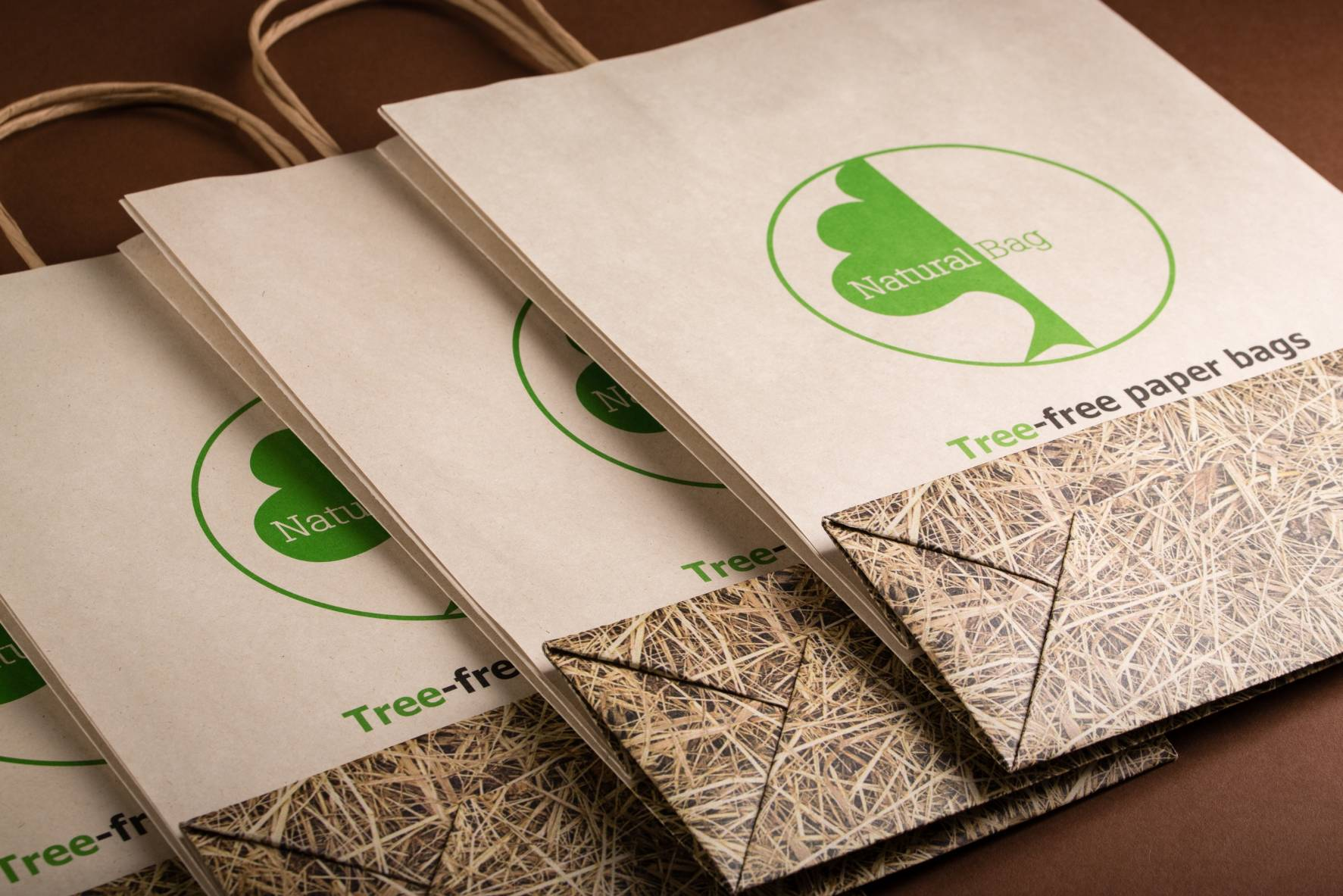 Natural Bag - Tree free paper bag 2